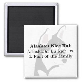 Imã Ímã do Alasca de Klee Kai