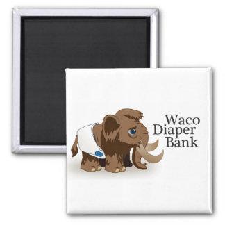 Imã Ímã do banco da fralda de Waco