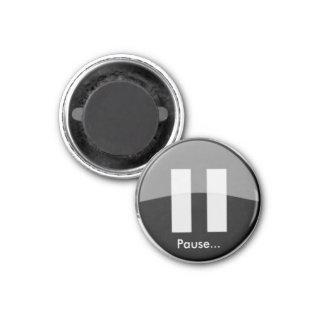 Imã Ímã do botão de PAUSA