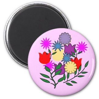 Imã Ímã do buquê floral do primavera