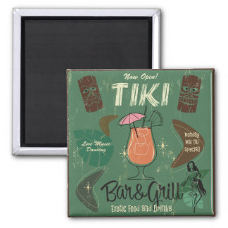 Imã Ímã do cocktail de Tiki Bar&Grill