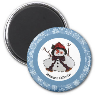 Imã Ímã do coletor do boneco de neve