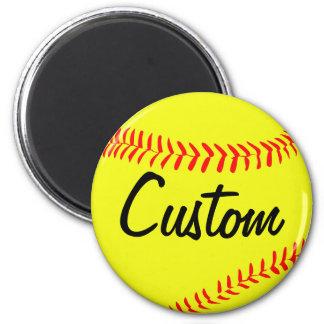 Imã Ímã do costume do softball de Fastpitch