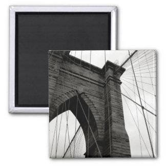 Imã Ímã do detalhe da ponte de Brooklyn