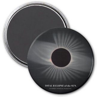 Imã ímã do eclipse solar dos 1800s