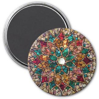 """Imã Ímã do """"estrela do mosaico do vitral outono """""""