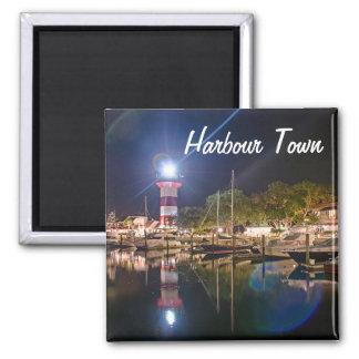 Imã Ímã do farol da cidade do porto de Hilton Head