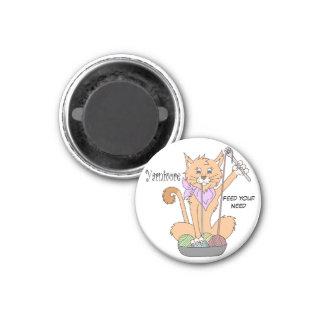 Imã Ímã do gato de Yarnivore