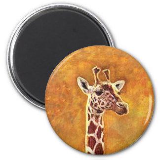 Imã Ímã do girafa dos animais selvagens