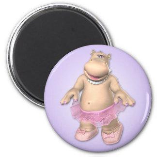 Imã Ímã do hipopótamo de Toon