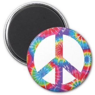 Imã Ímã do Hippie do sinal de paz do arco-íris