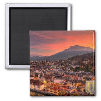 Imã Ímã do impressão das belas artes de HDR da suiça