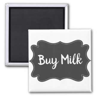 Imã Ímã do lembrete do refrigerador - compre o leite