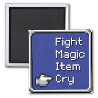 Imã Ímã do menu do FF - luta/mágica/artigo/grito