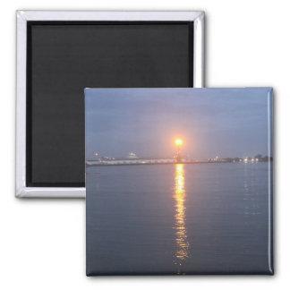 Imã Ímã do nascer do sol do rio de Mississipi