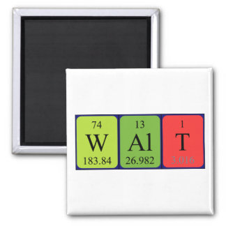 Imã Ímã do nome da mesa periódica de Walt