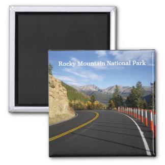 Imã Ímã do parque nacional de montanha rochosa de