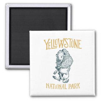 Imã Ímã do parque nacional de Yellowstone