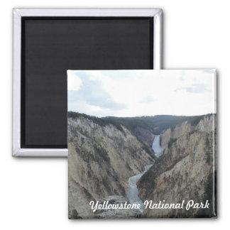 Imã Ímã do quadrado do parque nacional de Yellowstone