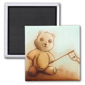 Imã Ímã do quadrado do urso de ursinho dos miúdos de