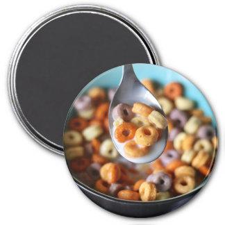 Imã Ímã do refrigerador: Cereal e leite coloridos