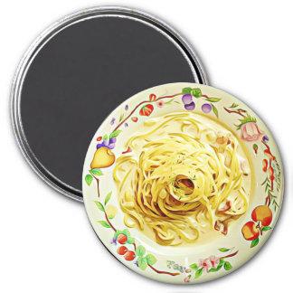 Imã Ímã do refrigerador da comida dos espaguetes de