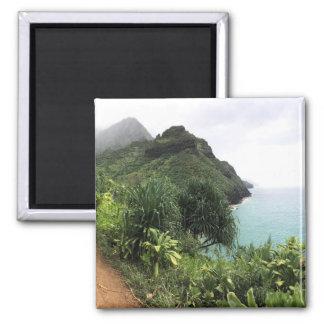 Imã Ímã do refrigerador da fuga de Kauai Kalalau