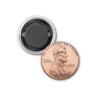 Imã Ímã do refrigerador da moeda da moeda de um