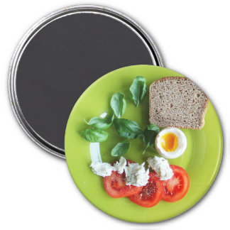 Imã Ímã do refrigerador do pequeno almoço dos ovos