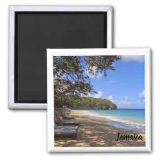 Imã ímã do refrigerador; Lembrança da praia de Jamaica