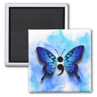 Imã Ímã do semicolon da borboleta