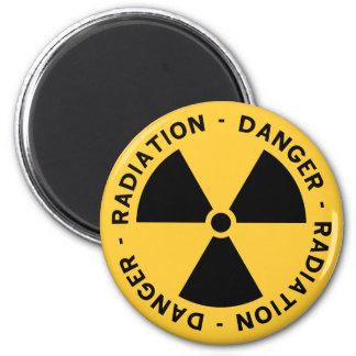 Imã Ímã do símbolo da radiação