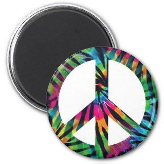 Imã Ímã do sinal de paz da tintura do laço do