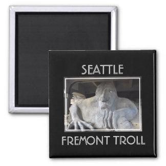 Imã Ímã do troll de Seattle Fremont