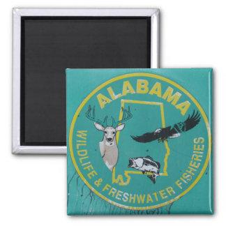 Imã Ímã dos animais selvagens de Alabama para o