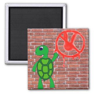 Imã Ímã dos grafites da tartaruga da arte da rua