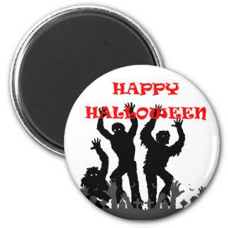 Imã Ímã drooling do zombi do Dia das Bruxas