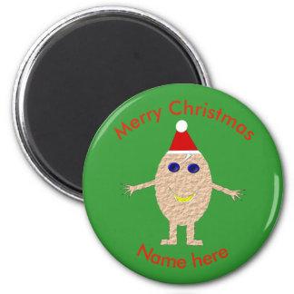Imã Ímã engraçado do ovo do Natal