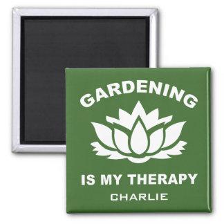 Imã Ímã feito sob encomenda de jardinagem do nome & da