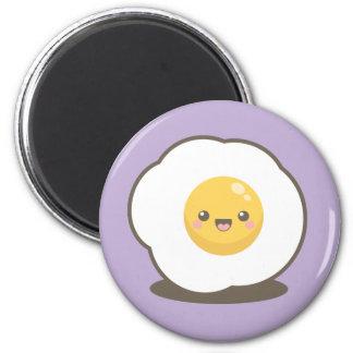 Imã Ímã feliz bonito do ovo frito de Kawaii