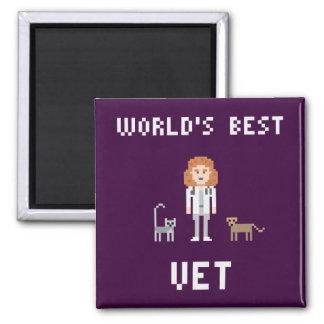Imã Ímã fêmea do veterinário do pixel o melhor