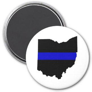 Imã Ímã fino de Blue Line Ohio