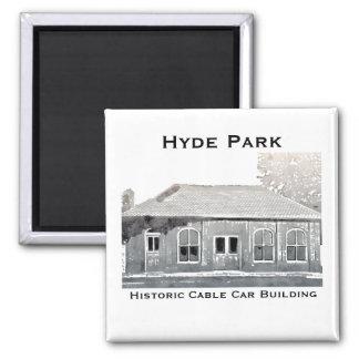 Imã Ímã histórico do teleférico de Hyde Park