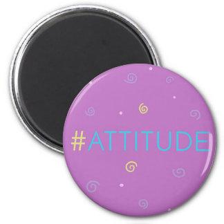 Imã Ímã inspirado - #attitude cor-de-rosa do mag de