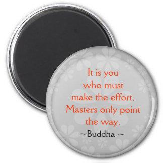 Imã Ímã inspirado das citações de Buddha