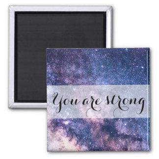 Imã Ímã inspirador da Mensagem-Afirmação do universo