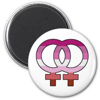Imã Ímã lésbica do símbolo de Venus da bandeira do