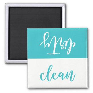 Imã Ímã limpo ou sujo da máquina de lavar louça (Aqua