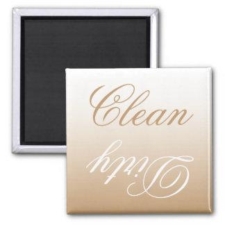 Imã Ímã limpo/sujo da máquina de lavar louça de Latte