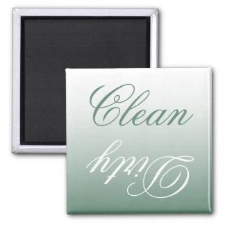 Imã Ímã limpo/sujo da máquina de lavar louça de Ombre